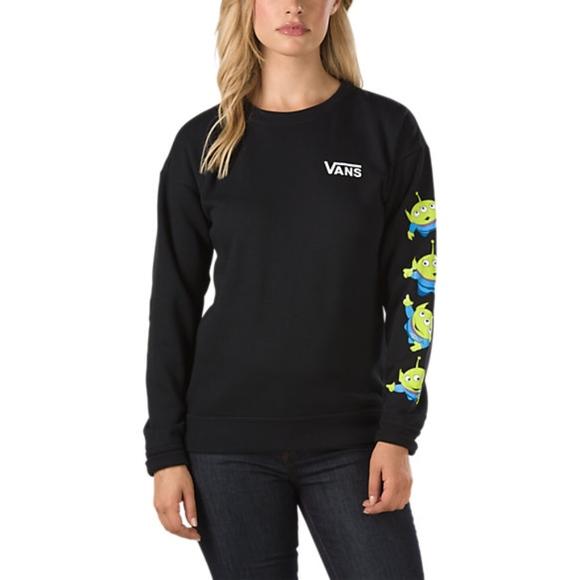 4c835d38c9 Vans Toy Story pullover sweater alien chosen one. M 5a57b9379d20f0a64c025ca5